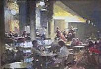 Bob Richardson - An Evening at the Cafe Florian, Venice