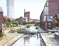 Bob Richardson - On The Canal , Castlefield