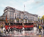 Phil George - Buckingham Palace Summer - The Changing of The Guard