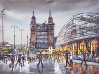 Phil George - Early Evening Lime Street Station - Liverpool