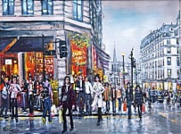 Phil George - Regent Street Shoppers