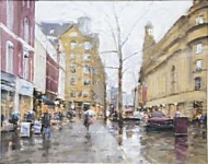 Bob Richardson - Umbrellas,  St Ann's Square