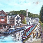 Phil George - Tails Along The Towpath - Hebden Bridge
