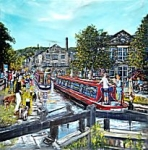 Phil George - Ribbon At Rochdale Canal Gates