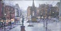 Bob Richardson - Albert Square Dusk
