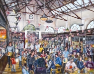 Phil George - Altrincham Market Hall Interior