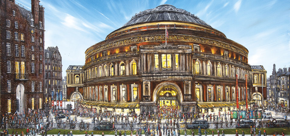 Alberts View Of The Royal Albert Hall