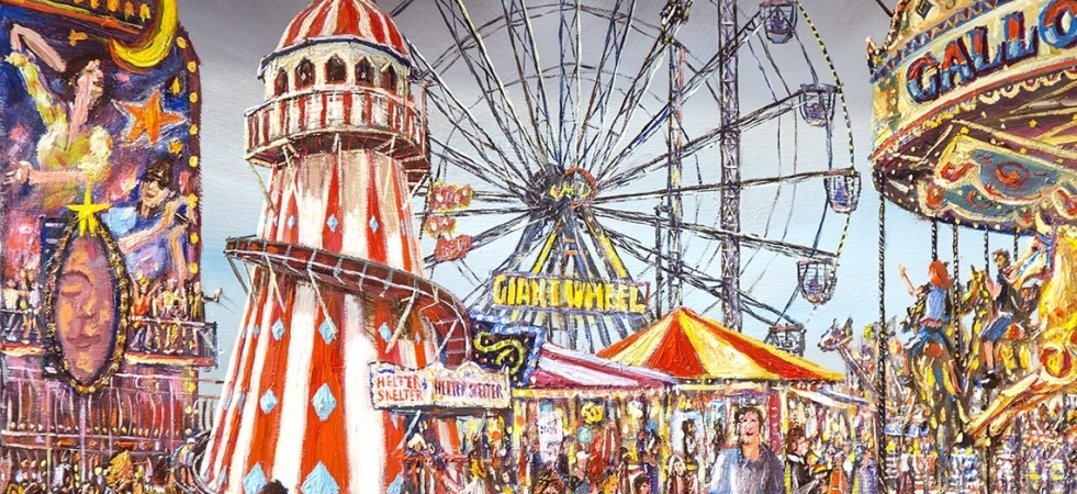 The Giant Wheel And Helter Skelter Artlook