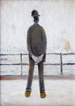 L.S. Lowry - Man Looking Out to Sea