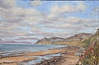 Stacey Manton - End of The Day at Nefyn Beach