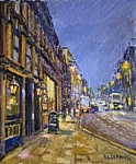 Reg Gardner - Thomas's Chop House, Late October Evening