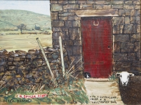 Peter Brook - A Single Room, with a complacent sheep & a frustrated dog