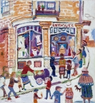 Fred Yates - Antique Shop On The Corner