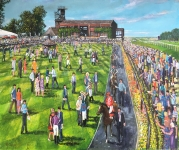 Phil George - Newmarket Race Course in July