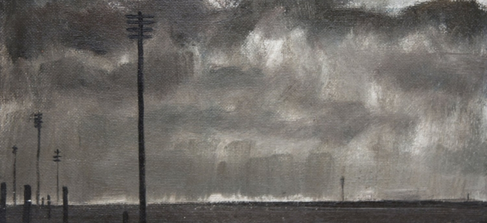 Major Dark Sky And Telegraph Poles Crop